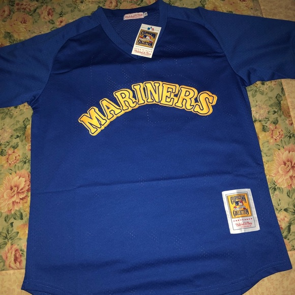 differently b9153 73d22 throwback Ken griffey jr Mariners Seattle jersey NWT